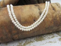 Winzigkleine Perlen (Saatperlen), Durchmesser nur 2,7mm