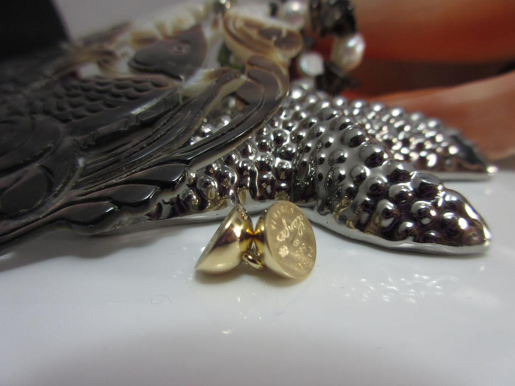 Magnetschließe Echtgold